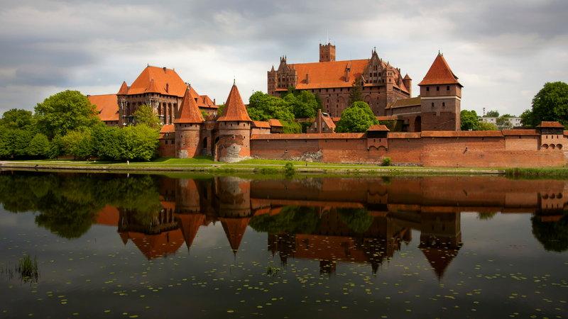 Pomorskie zamki Krzyżackie